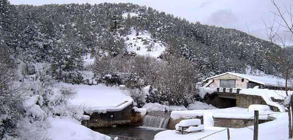 Nieve en Ziberria