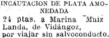Diario de Navarra del día 31/08/1938