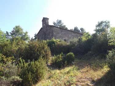 La ermita de San Sebastián o de la Asunción, en el paraje de Esarena