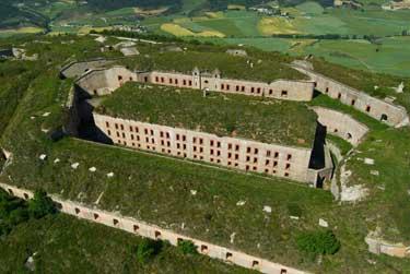 El fuerte de San Cristóbal, en la cima del monte Ezkaba