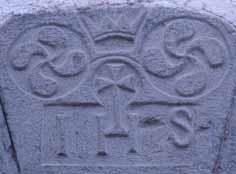 Piedra angular de la puerta de Casa Diego