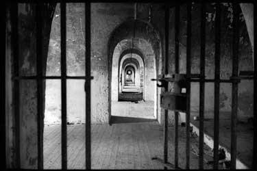 Interior del Penal de San Cristóbal, donde estuvo preso Vicente Mainz Landa