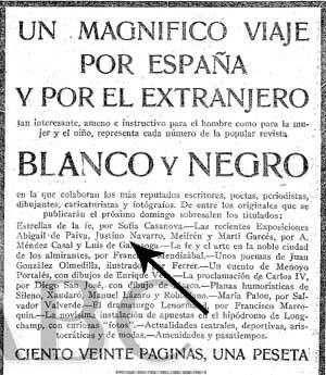 Justino había ido a Madrid a trabajar como escultor. En este recorte de prensa (24/03/1928) se habla de una exposición suya.