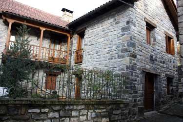 Estado actual de la casa nativa de Justino Navarro Aizagar.
