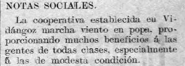 Recorte de El Pensamiento Navarro del 18/05/1915