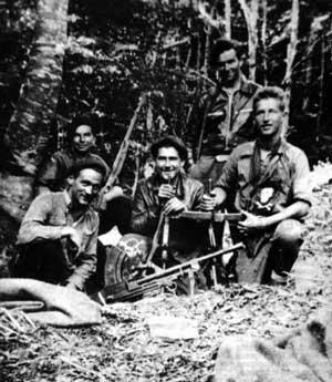 1944 - Los maquis hicieron que casa Xoko se convirtiera en un escondite improvisado