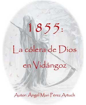 """Portada del libreto """"1855: La Cólera de Dios en Vidángoz"""""""