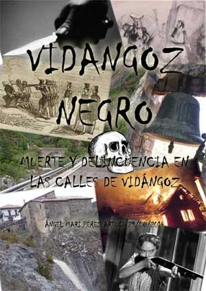 """Portada del libreto """"Vidángoz negro"""""""